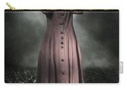 Woman And Teddy Carry-all Pouch
