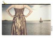 Woman At The Lake Carry-all Pouch
