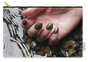 Woman Hand In Water Carry-all Pouch