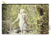 Woman In A Forest Carry-all Pouch