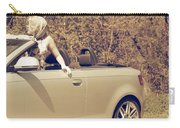 Woman In Convertible Carry-all Pouch by Joana Kruse