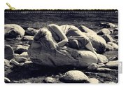 Woman In River Carry-all Pouch by Joana Kruse