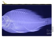 X-ray Of A Flame Hawkfish Carry-all Pouch