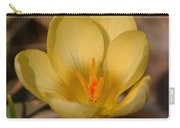 Yellow Crocus Carry-all Pouch