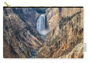 Yellowstone Lower Falls Carry-all Pouch