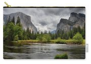 Yosemite's Valley View  Carry-all Pouch