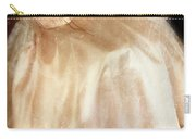 Young Lady Sitting In Satin Gown Carry-all Pouch by Jill Battaglia