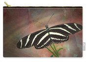 Zebra Longwing  Butterfly-2 Carry-all Pouch