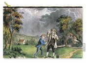 Benjamin Franklin American Polymath Carry-all Pouch