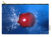 Bullet Hitting An Apple Carry-all Pouch