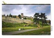Kalemegdan Fortress In Belgrade Carry-all Pouch by Elena Elisseeva