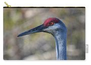 10- Sandhill Crane Carry-all Pouch