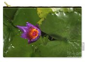 Waterlily Opening Part Of A Series Carry-all Pouch