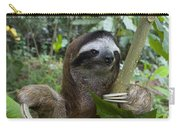 Brown-throated Three-toed Sloth Carry-all Pouch by Suzi Eszterhas