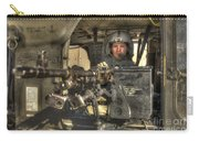 Hdr Image Of A Uh-60 Black Hawk Door Carry-all Pouch