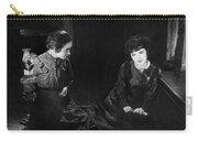 Silent Film Still: Women Carry-all Pouch