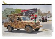 A Free Libyan Army Pickup Truck Carry-all Pouch
