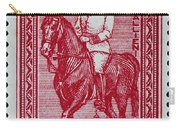 old French postage stamp Carry-all Pouch
