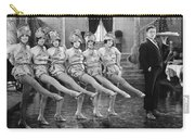 Silent Film Still: Dancing Carry-all Pouch