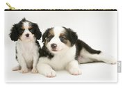 Puppies Carry-all Pouch by Jane Burton