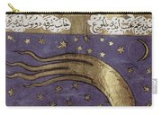 1577 Comet In Turkish Manuscript Carry-all Pouch