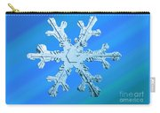 Snow Crystal Carry-all Pouch