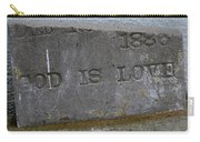 1886 God Is Love Stone Carry-all Pouch