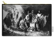 1898 Artwork Of Nativity Scene At Nativity Church Carry-all Pouch