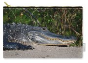 19- Alligator Carry-all Pouch