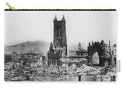1906 San Francisco Earthquake Carry-all Pouch