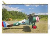 1917 Nieuport 28c.1 Antique Fighter Biplane Canvas Photo Poster Print Carry-all Pouch