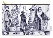 1920s British Fashions Carry-all Pouch