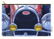 1927 Bugatti Replica Grille Headlights Carry-all Pouch