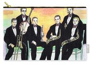 1927 New Yorkers Jazz Band Carry-all Pouch