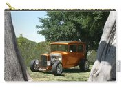 1929 Ford Butter Scorch Orange Carry-all Pouch by Jack Pumphrey