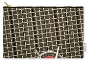 1930 Cadillac 452 Fleetwood Grille Emblem Carry-all Pouch