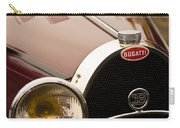 1931 Bugatti Type 55 Roadster Grille Emblem Carry-all Pouch