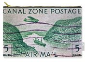 1931 Canal Zone Stamp Carry-all Pouch