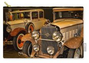 1931 La Salle Series 345r And 1929 Packard Roadster Carry-all Pouch