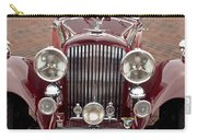 1934 Bentley 3.5-litre Drophead Coupe Grille Carry-all Pouch