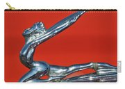 1934 Buick Series 50 Goddess Hood Ornament Carry-all Pouch
