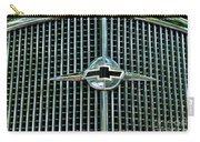 1934 Chevrolet Grill  Carry-all Pouch by Paul Ward