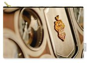 1934 Packard 1104 Super Eight Phaeton Emblem Carry-all Pouch by Jill Reger