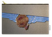 1937 Chrysler Airflow Emblem Carry-all Pouch