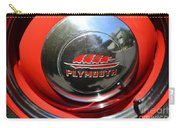 1937 Plymouth Hubcap Carry-all Pouch