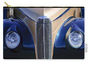 1940 Cadillac Lasalle Convertible Grille Carry-all Pouch