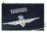 1950 Ferrari Carrozz Touring Milano Emblem Carry-all Pouch