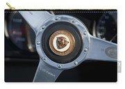 1951 Jaguar Steering Wheel Emblem Carry-all Pouch