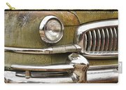1951 Nash Ambassador Front End Closeup Carry-all Pouch