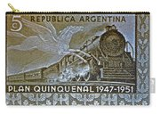 1951 Republica Argentina Stamp Carry-all Pouch